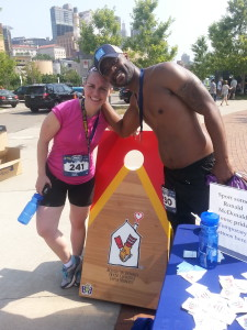 Donte and Nicole Supporting RMH